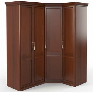 Шкаф угловой (2 + 1) Шатура Dante FU5-01.Z1L двери правые, ограничитель 484058
