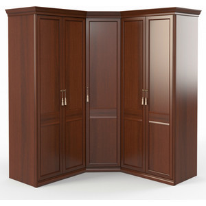 Шкаф угловой (2 + угловой + 2) Шатура Dante FU5-01.Z1L угловая дверь правая 484061 цена