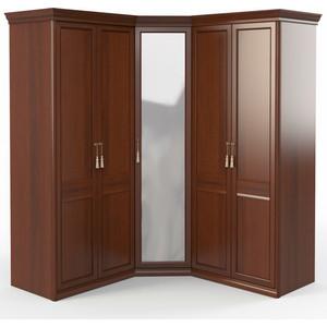 Шкаф угловой (2 + с зеркалом 2) Шатура Dante FU5-01.Z1L 484062
