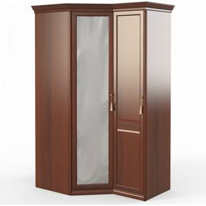 Шкаф угловой (угловой с зеркалом + 1) Шатура Dante FU5-01.Z1L двери левые, ограничитель 484108