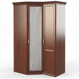 Шкаф угловой (угловой с зеркалом + 1) Шатура Dante FU5-01.Z1L двери правые, ограничитель 484050 fsj 01 z1l шкаф 1 дв стекл 3 ящ щит полки шатура dante
