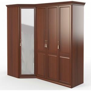 Шкаф угловой (угловой с зеркалом + 3 (2 1)) Шатура Dante FU5-01.Z1L 484053