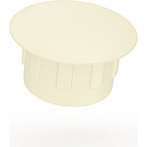 Заглушки Шатура d-5 мм 500 шт белые 384131