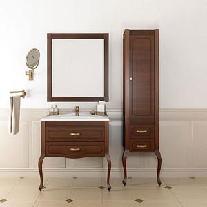 Мебель для ванной Opadiris Фреско 80 светлый орех Р10, с патиной