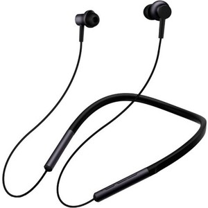 Фото - Наушники с микрофоном Xiaomi Mi Collar Bluetooth Headset Black (Neckband Earphones) наушники xiaomi mi collar bluetooth headset gold