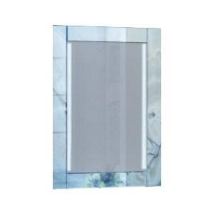 Зеркало 1Marka Marka One Glass 60 голубой мрамор (4604613331566)