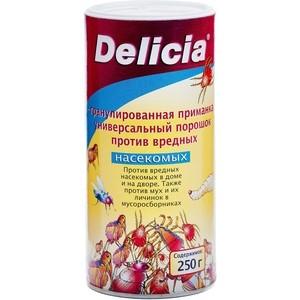 Порошок Delicia против вредных насекомых, концентрат, 250 г