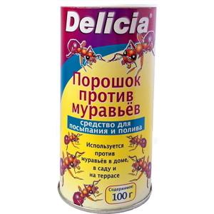 Порошок Delicia от муравьёв, 100 г