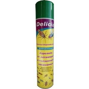 Аэрозоль Delicia универсальный, от летающих и ползающих насекомых, 400 мл