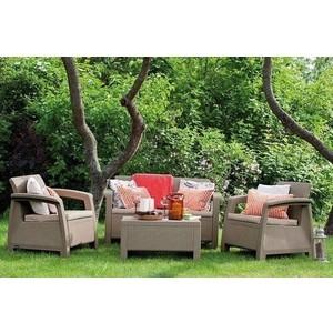 Комплект мебели Afina garden Yalta 2set AFM-1020B beige afina набор мебели асоль 2в иск ротанг
