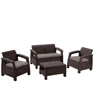 Комплект мебели Afina garden Yalta 2set AFM-1020A brown