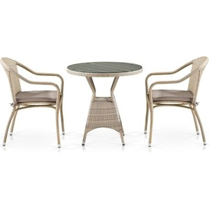 Комплект мебели Afina garden T705ANT/Y480C-W85 2PCS latte