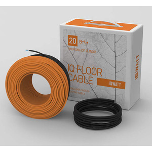 цена Нагревательный кабель IQWATT IQ FLOOR CABLE(20 Вт/м2), 110 m онлайн в 2017 году