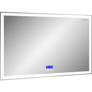 Зеркало Edelform универсальное 120x70 с подсветкой, сенсорным выключателем, часами, bluetooth приемником (ZLP584)