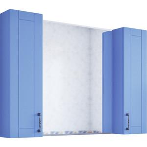 Зеркало-шкаф Sanflor Глория 105 голубой (C000005703)