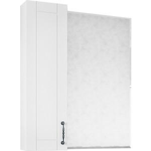 Зеркало-шкаф Sanflor Глория 65 белый, левый (C000005757)