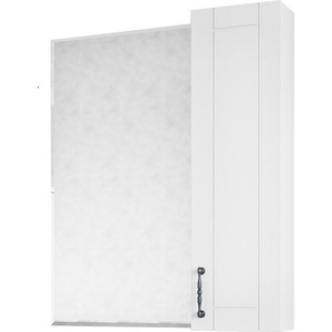 Зеркало-шкаф Sanflor Глория 65 белый, правый (C000005686)