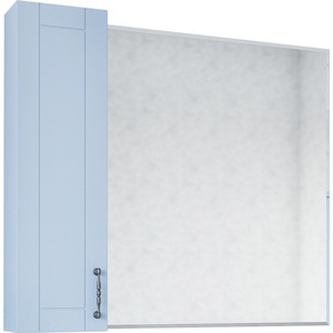 Зеркало-шкаф Sanflor Глория 85 серый, правый (C000005693)