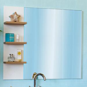 Зеркало Sanflor Ингрид 80 швейцарский вяз\белый (C000005875)