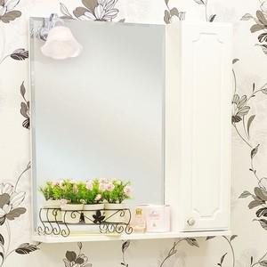 Зеркало-шкаф Sanflor Ксения 60 белый, правый (H0000000115)
