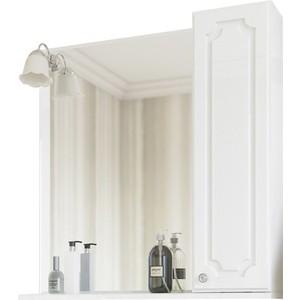 Зеркало-шкаф Sanflor Ксения 70 белый, правый (H0000000118)