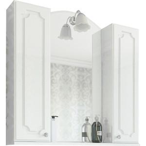 Зеркало-шкаф Sanflor Ксения 80 белый (H0000000119)