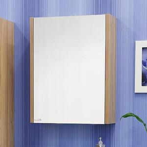 Зеркальный шкаф Sanflor Ларго 60 швейцарский вяз, левый (H0000000039)