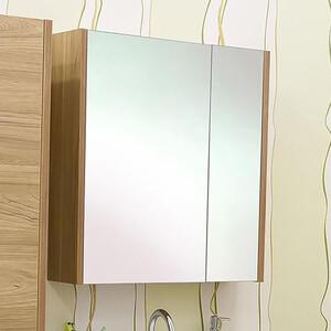 Зеркальный шкаф Sanflor Ларго 70 швейцарский вяз, левый (H0000000041)