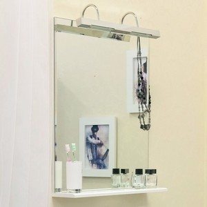 Зеркало Sanflor Одри 60 белый (H0000001155) зеркало sanflor одри 80 белый h0000001157