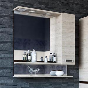 Зеркало-шкаф Sanflor Техас 60 венге\орегон, правый (C0000001973)