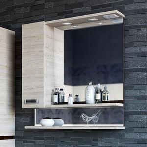 Зеркало-шкаф Sanflor Техас 70 венге\орегон, левый (C0000001974)