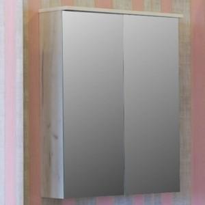 цена на Зеркальный шкаф Sanflor Чикаго 75 дуб крафт белый (C000005829)