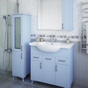 Мебель для ванной Sanflor Глория 85 серый