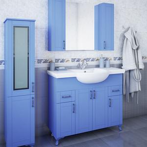 Мебель для ванной Sanflor Глория 105 голубой
