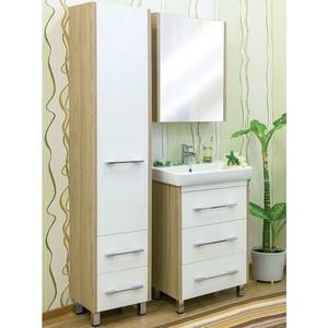 Мебель для ванной Sanflor Ларго 60 швейцарский вяз\белый, напольная