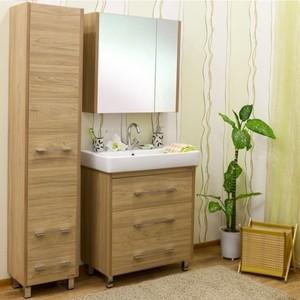Мебель для ванной Sanflor Ларго 80 швейцарский вяз