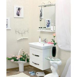 Мебель для ванной Sanflor Одри 70 белый, подвесная