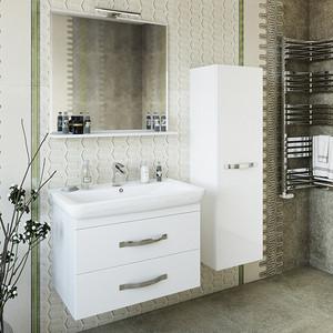 Мебель для ванной Sanflor Одри 80 белый, подвесная