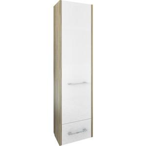 Шкаф-пенал Sanflor Ларго 40 швейцарский вяз\белый, правый (H0000000518)