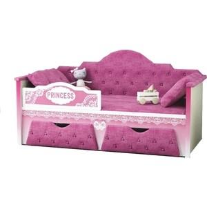 цены Диван-кровать Липецк Принцесса 80х160 розовый