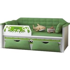 Диван-кровать Липецк Спорт 80х160 зеленый