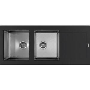 Кухонная мойка Florentina Комби 1160 антрацит (21.415.E1160.302)