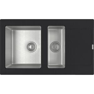 Кухонная мойка Florentina Комби 860К антрацит (21.410.D0860.302)