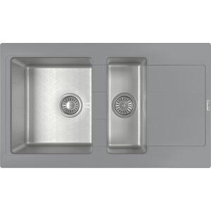 Кухонная мойка Florentina Комби 860К грей (21.410.D0860.305) цена и фото