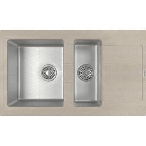 Кухонная мойка Florentina Комби 860К песочный (21.410.D0860.107)