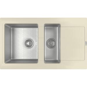 Кухонная мойка Florentina Комби 860К шампань (21.410.D0860.202) фото