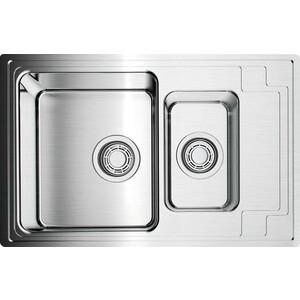 Кухонная мойка Omoikiri Mizu 78-2-IN нержавеющая сталь (4973731)