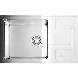 Кухонная мойка Omoikiri Mizu 78-LB-IN нержавеющая сталь (4973729) omoikiri mizu 71 1 l