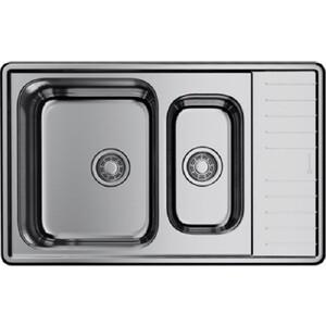 Кухонная мойка Omoikiri Sagami 79-2-IN нержавеющая сталь (4993733)