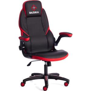 где купить Кресло TetChair BAZUKA кож/зам черный/красный 36-6/36-6/06/36-161A по лучшей цене